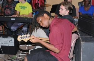 Photo_Live Soundz Students at Work_Thylas, Stone and Leo